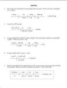 metric conversions using dimensional analysis metric