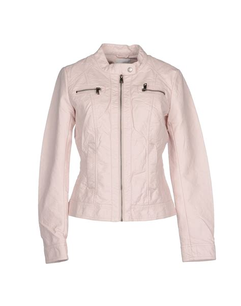 light pink jacket only jacket in pink lyst