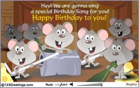 Singing Birthday Cards Ecards Card Invitation Design Ideas Singing Greeting Cards