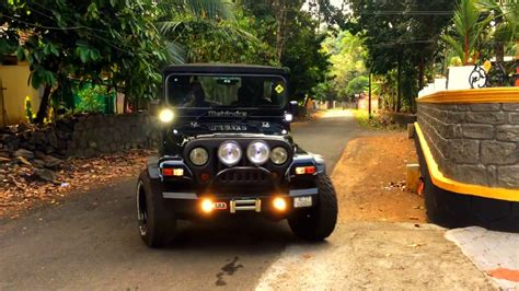 thar jeep modified in kerala mahindra thar modified in kerala