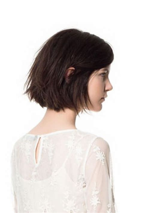 chin cut hairbob with cut in ends messy bob medium brown and a medium on pinterest