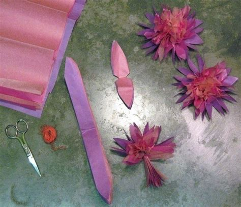 How To Make Lilies Out Of Paper - paper water lilly 183 how to make a paper flower