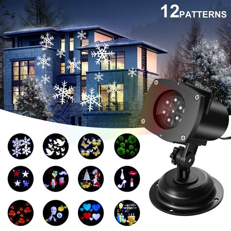 interior christmas light projector projector lights outdoor switchable pattern displays projector show waterproof