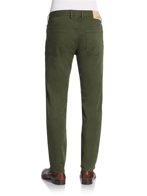 lyst j lindeberg leg stretch cotton in green for