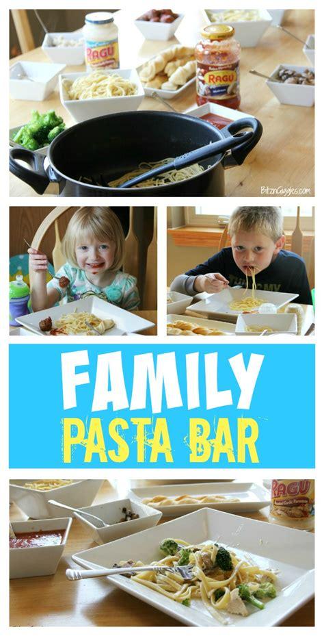 family pasta bar