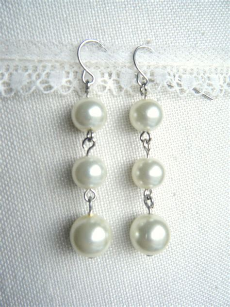 Pearl Earring miss lovie 10 minute pearl earrings tutorial