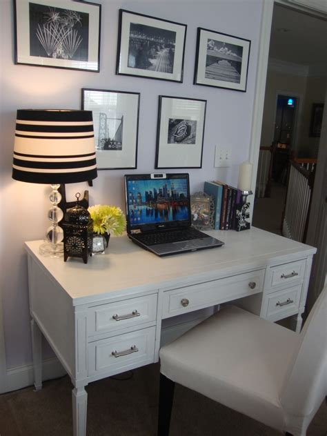 Martha Stewart White Desk guest post desk makeover wow goodwill