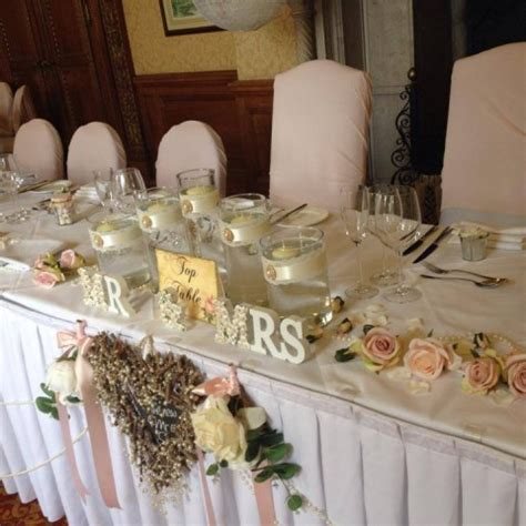 Top Table Decoration Ideas Wedding Stationary Hshire Laurel Design