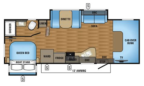 c floor plans 2017 greyhawk 26y jayco inc
