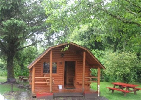 Koa Cabins Oregon by View Of Cabins From Playground Picture Of Lincoln City