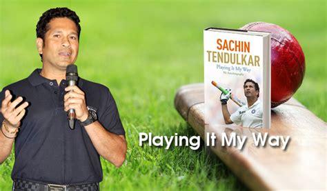biography book of sachin tendulkar playing it my way book reviews sachin tendulkar s