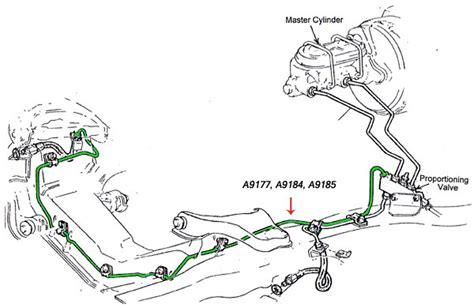 brake line diagram chevelle brake line diagram 1968 corvette c3 johnywheels
