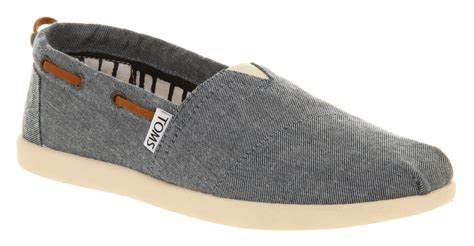 kid toms shoes toms youth classics chambray bimini ebay