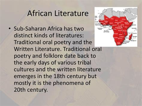 the myth of the twentieth century books ppt tradition of literature powerpoint