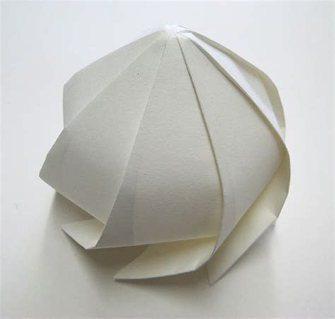 How To Make 3d Paper Shapes - 3d origami by jun mitani strictlypaper
