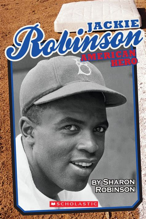 jackie robinson picture book jackie robinson by robinson scholastic