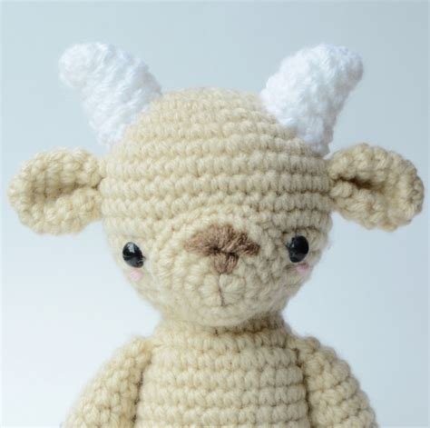 amigurumi goat pattern free vincent van goat amigurumi pattern amigurumipatterns net