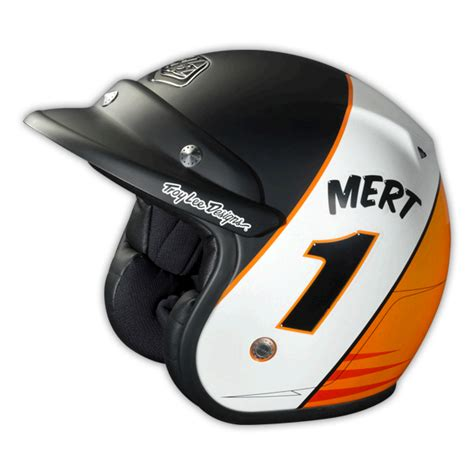 design helm half face troy lee design open face helmet mert lawwill lg ece large