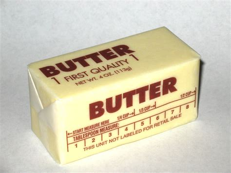 why are sticks of butter long and skinny in the east but