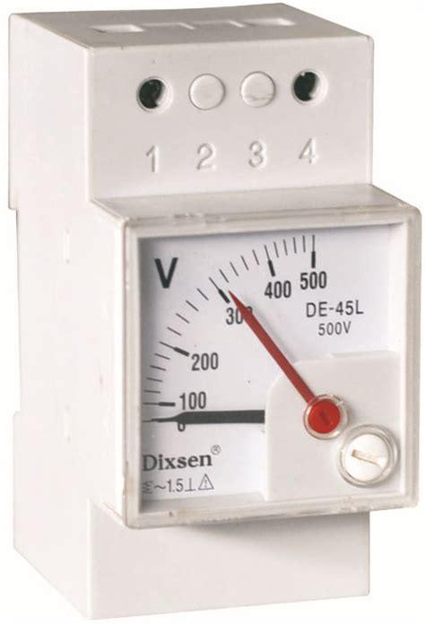 Panel Meter Er Meter Direct Class 25 Type Ft 96 Ft 72 single phase din rail analog panel meter voltmeter buy analog voltmeter panel voltage meter