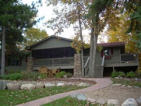 Cross Lake Cabins For Rent by Cozy Lake House On The Whitefish Chain In Vrbo