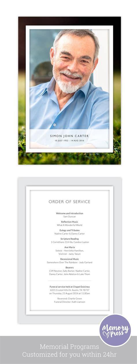 free funeral brochure templates online 35 best memorial funeral
