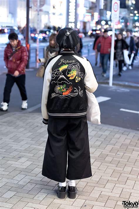 Harajuku Jaket G japanese sukajan jacket myob hat dvmvge septum ring in harajuku
