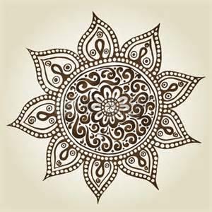 mandala round ornament pattern ornamental flowers