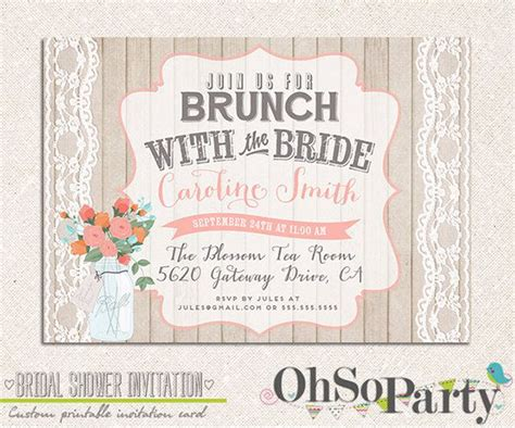 Introducing Our Downloadable Invites by 32 Best Bridal Shower Invitations Images On