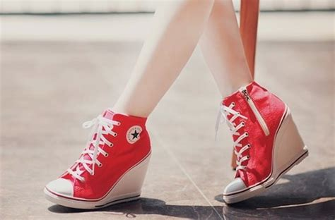 converse high heels for top fashion stylists