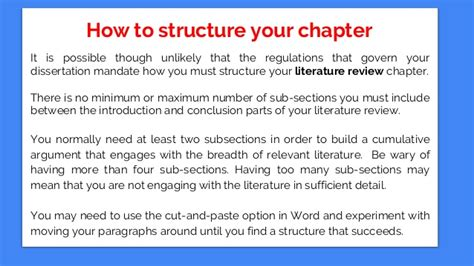 how to write chapter 1 of a dissertation how to write a dissertation literature review chapter
