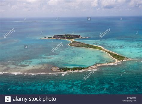 Garden Of Key Aerial View Of Key Bush Key And Fort Jefferson On