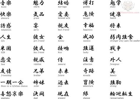 kanji tattoo symbols meanings and translations kanji tattoo images designs