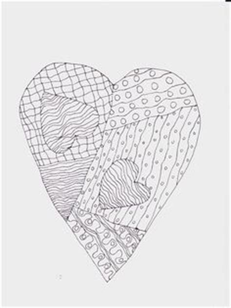 abstract coloring pages hearts hearts abstract doodle zentangle coloring pages colouring