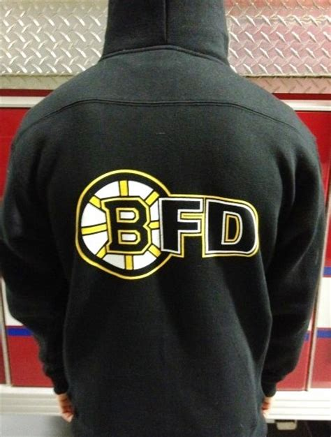 Set Hoddie Boston boston department hockey hoodie