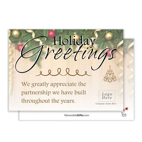 christmas greeting company greetings corporate card