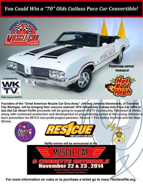 Muscle Car Sweepstakes - great american muscle car giveaway