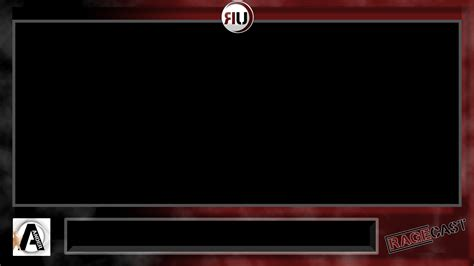twitch layout template twitch facecam border images