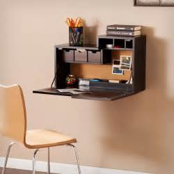 Fold Out Chairs Wall Mount Black Hideaway Drop Down Desk Table Floating