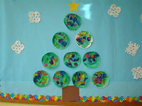 christmas tree craft for kindergarten classroom ideas tree bulletin board ideas for preschool 171 funnycrafts