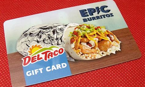 Del Taco Gift Cards - del taco cyber monday gift card combo deals fast food watch