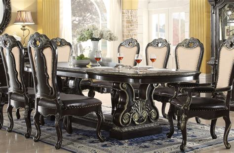 Gotik Set matteo 88 quot 112 quot style 5 pc dining set with