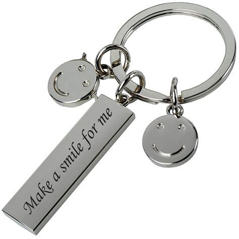 Key Ring key rings keyrings free personalised silver engraved