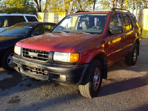 how cars engines work 1998 isuzu rodeo parking system 1998 isuzu rodeo for sale carsforsale com