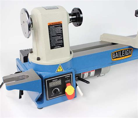 bench top lathes bench top wood lathe wl 1220vs baileigh industrial
