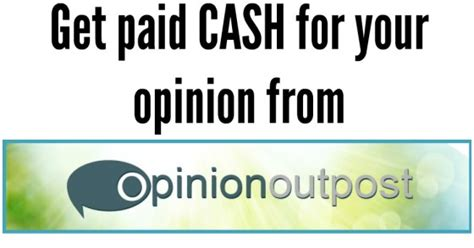 Get Paid For Opinions - get paid for your opinion fabulessly frugal