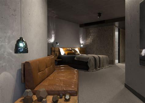 concrete hotel decor  canberra interiorzine