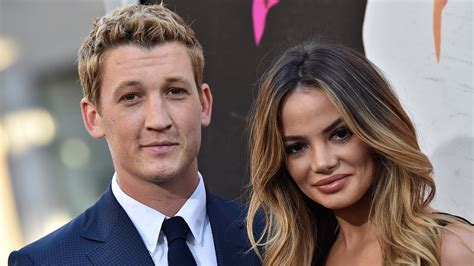 j balvin gf miles teller gets engaged to longtime girlfriend here s
