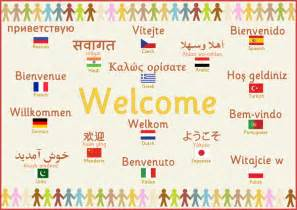 multilingual welcome poster free early years primary