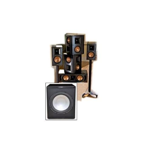 artbreakiss klipsch rb 51 ii home theater system free sub